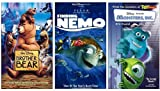 Brother Bear VHS / Finding Nemo VHS / Monsters Inc. VHS (Disney)
