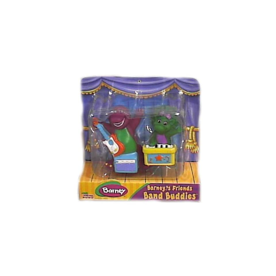 Band Game Toy : Barney band buddies friends set with baby bop on