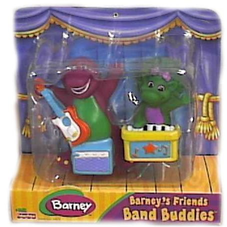 Buy Barney Band Buddies Friends Set with Barney & Baby Bop