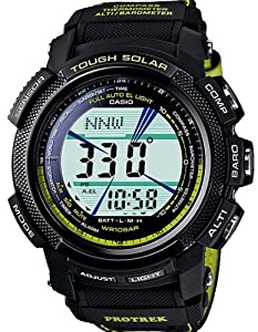 Casio ProTek Triple Sensor Solar Watch PRG-200GB-3