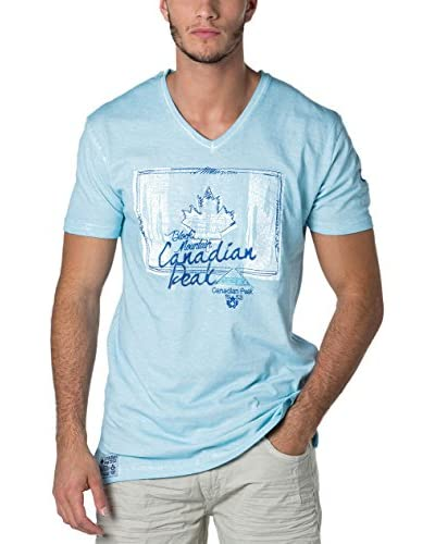 CANADIAN PEAK Camiseta Manga Corta Janada Azul Claro