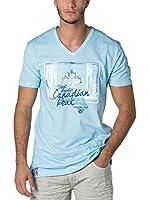 CANADIAN PEAK Camiseta Manga Corta Janada (Azul Claro)