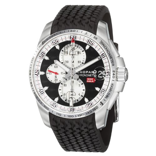 Chopard Men's 168459-3037 Miglia Grand Trismo Black Chronograph Dilal Watch