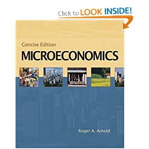 Microeconomics, Concise Edition (with InfoTrac) online