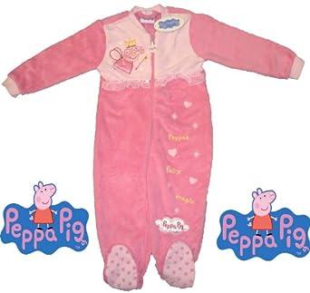 Peppa Pig Pink Fleece Sleepsuit 2-3 Years