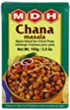 MDH Chana Masala (Spice Blend for Chick Peas), 3.5-Ounce Boxes (Pack of 10)