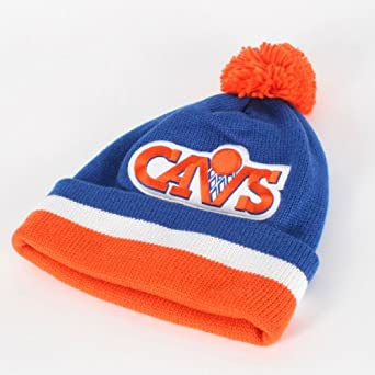 Mitchell and Ness - Cleveland Cavaliers Cuffed Beanie in Main Team Color by Mitchell & Ness