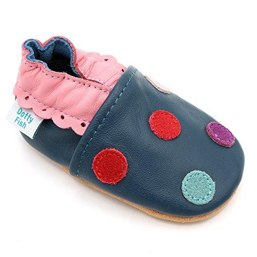 dotty-fish-chaussures-cuir-souple-bebe-et-bambin-filles-bleu-a-pois-multicolore-taille-20