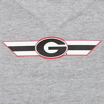 Ncaa Georgia Bulldogs Pet T-Shirt, Small, Team Color front-734663