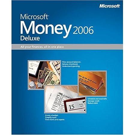 Microsoft Money 2006 Deluxe