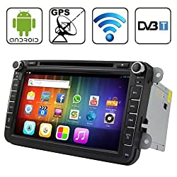 See Rungrace 8.0 Android 4.2 Multi-Touch Capacitive Screen In-Dash Car DVD Player for Volkswagen with WiFi / GPS / RDS / IPOD / Bluetooth / DVB-T Details