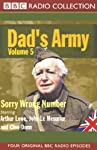 Dad's Army, Volume 5: Sorry Wrong Number | Jimmy Perry,David Croft