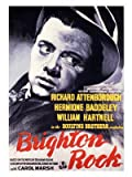 Brighton Rock Graham Greene Movie Poster Print - Approx 40 x 30 cms (15.5 x 11.5 Inches)