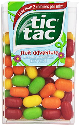 tic tac Fruit Adventure Singles, 1 Ounce (Pack of 12)