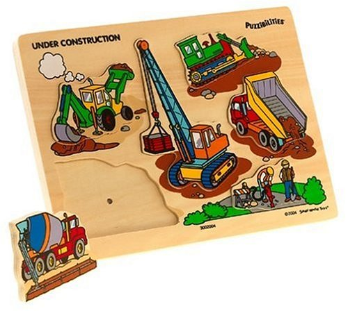 Cheap Toys Puzzibilities Under Construction Wooden Sound Puzzle (B0006HB9H0)