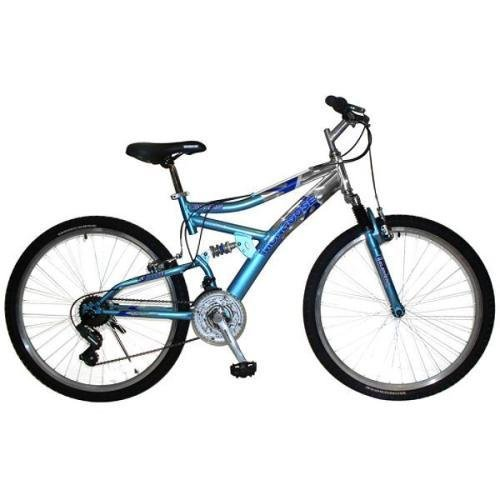 Mongoose Women's Estes Bicycle (Blue)