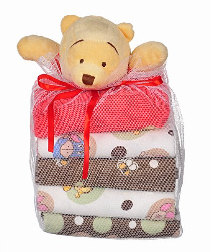 Cheap Disney Peekaboo Pooh Sherpa Baby Blanket Two-sided Velour on line