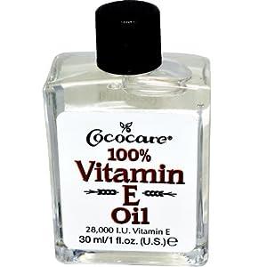 Cococare 100% Vitamin E Oil, 1 Ounce