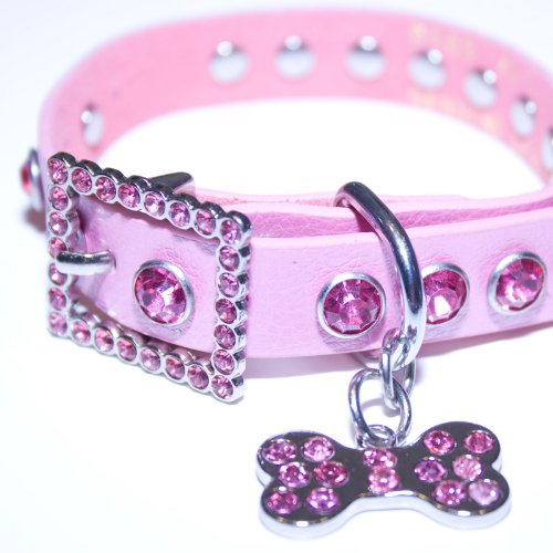 Pink Leather, Rhinestone