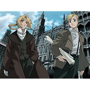 Fullmetal Alchemist - The Movie - Kindred Spirits Photographic Poster Print, 24x32