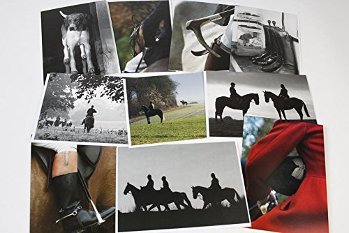 fox-hunting-pack-10-assorted-large-a5-greeting-cards-with-envelopes-of-iconic-english-hunting-images