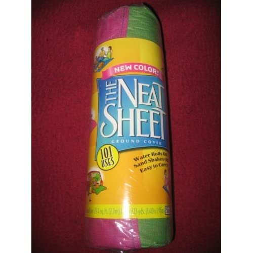 """Amazon.com : The Neat Sheet Ground Cover 55"""" x 77"""" (Pink"""