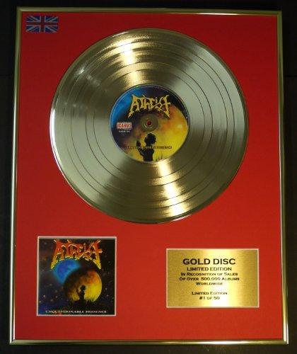 ATHEIST/EDIZIONE LTD CD DISCO D'ORO/DISCO/UNQUESTIONABLE PRESENCE