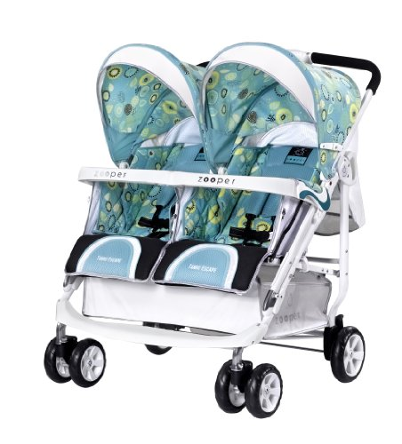 Zooper Tango Escape Stroller, Summer Day front-982126