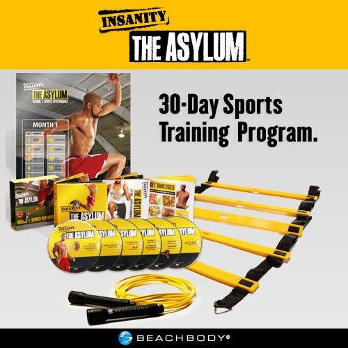 INSANITY: The ASYLUM - 30 Day Sports Training Workout DVD Program