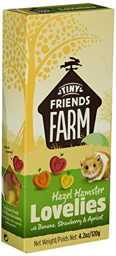 Supreme Tiny Friends Farm Lovelies Hamster Treats, 4.2 oz. 51PCr17W5HL
