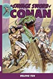 img - for Savage Sword of Conan Volume 10 by Michael Fleischer (2011-09-20) book / textbook / text book