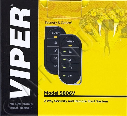 093207096723 - Viper 5806V 2-way Security System w/Remote carousel main 0