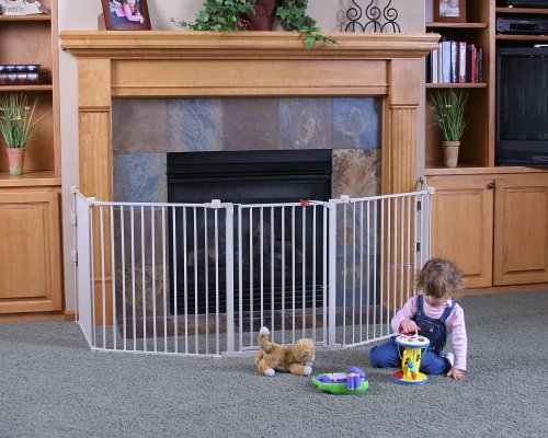regalo 192 inch super wide gate and play yard