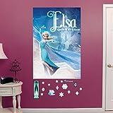 Disney Frozen Elsa Queen of Ice &Amp; Snow Mural Wall Decals By Fathead