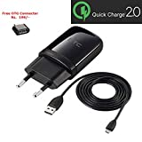 #10: New 1.5 Amp Travel Charger Power Adapter TCP900-EU For Htc Desire 820 816 826 620G 626G 526G 501 One M7 M8 E8 Eye One Mini 2 & All micro usb charging port - Black