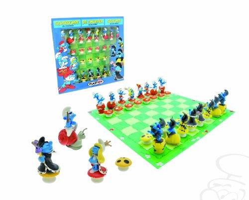 Plastoy Smurfs Chess Set