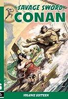 Savage Sword of Conan Volume 16