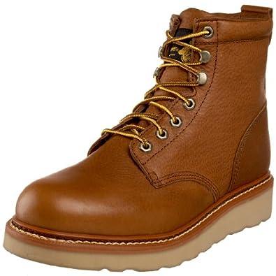 "Golden Retriever Men's BROADWAY ""GOLD"" 6559 Casual Boot,Tan,7 D US"