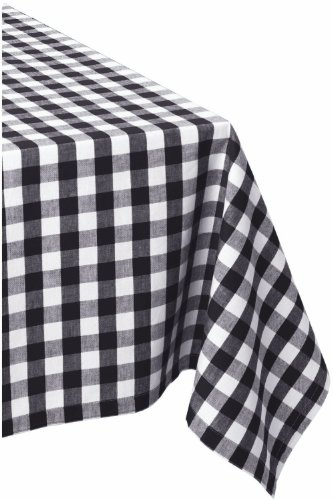 DII 100% Cotton, Machine Washable, Dinner, Summer & Picnic Tablecloth, 60 x 84