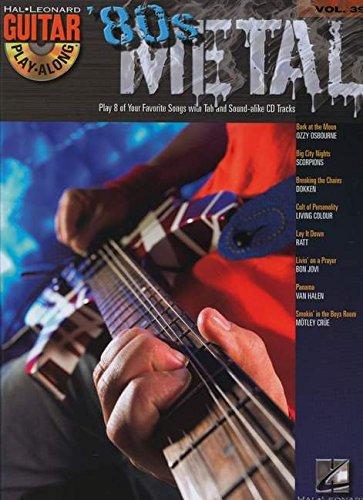 Guitar Play Along Vol.39 80'S Métal Tab CD (Book & CD)