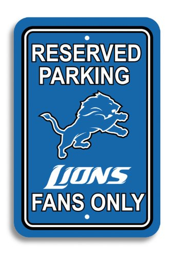 NFL Detroit Lions Plastic Parking Sign at Amazon.com