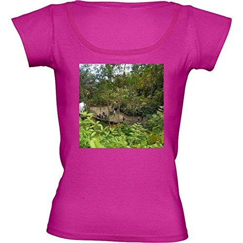 t-shirt-pour-femme-rose-fushia-col-rond-taille-l-eden-project-2-by-cadellin