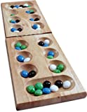 Solid Wood Folding Mancala [Toy]