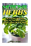 img - for Medicinal Herbs: 20 Effective Medicinal Herbs You Can Grow in Your Kitchen Garden All Year Round!: (Medicinal Herb Garden, Books On Natural Healing) ... Of Natural Healing, Natural Healing Remedies) book / textbook / text book
