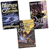 David Drake 3 Books Collection Pack Set RRP: �23.97 (Servant Of The Dragon (The Lord of the Isles), Queen Of Demons (Lord of the Isles 2), Mistress Of The Catacombs (Gollancz S.F.))by David Drake