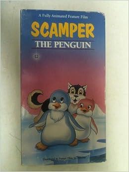 scamper the penguin vhs amazon   books