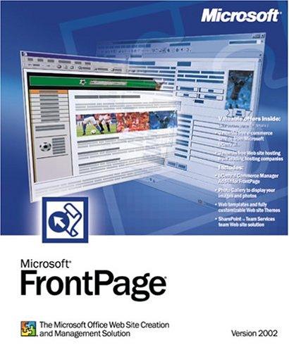Microsoft Frontpage 2002 - Ensemble Complet - 1 Utilisateur - Edu - Cd - Win - Français