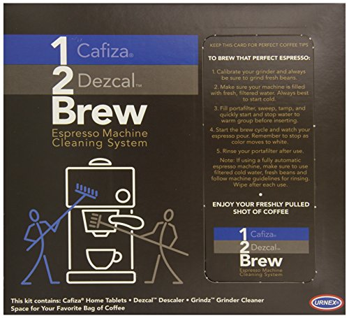 Best Price Urnex 1-2 Brew Home Espresso Machine Cleaning System
