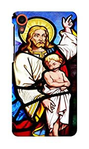 KnapCase Religious Stained Glass Designer 3D Printed Case Cover For HTC Desire 820