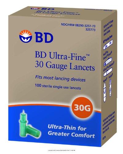 BD Ultra-Fine Lancet Lnct Ultra Fine Sngl Use St (1 CASE 2400 EACH)